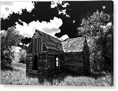 Rustic Barn Acrylic Print by Scott McGuire