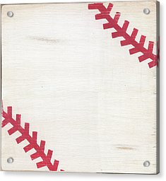 Rustic Baseball Acrylic Print
