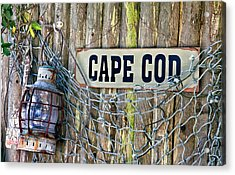 Rustic Cape Cod Acrylic Print by Bill Wakeley