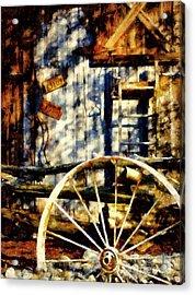 Rustic Decor Acrylic Print by Janine Riley