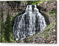 Acrylic Print featuring the photograph Rustic Falls by Shane Bechler