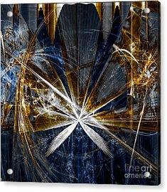 Rustic Hemp Acrylic Print by Arlene Sundby
