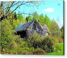 Rustic History Acrylic Print by Gene Cyr