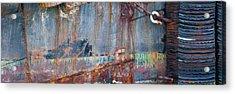 Rustic Hull 2 Acrylic Print by Jani Freimann