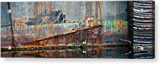 Acrylic Print featuring the photograph Rustic Hull by Jani Freimann