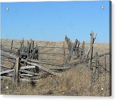Rustic Range Acrylic Print
