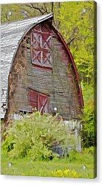 Rustic Red Barn II Acrylic Print