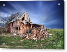 Rustic Ruin Acrylic Print by Shannon Rogers