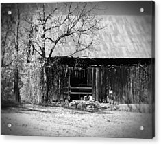 Rustic Tennessee Barn Acrylic Print by Phil Perkins