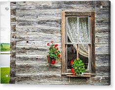 Rustic Window Acrylic Print