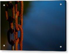 Rusty 4 Acrylic Print by Karol Livote
