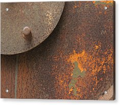 Rusty Abstraction Acrylic Print