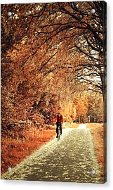 Rusty Autumn. Holland Acrylic Print by Jenny Rainbow