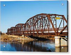 Rusty Bridge Acrylic Print by Doug Long