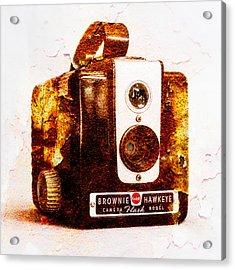 Rusty Brownie - Square Acrylic Print