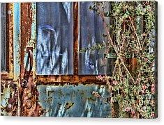 Rusty Charm By Diana Sainz Acrylic Print