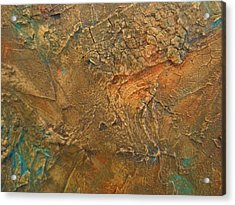 Rusty Day Acrylic Print by Alan Casadei