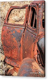 Acrylic Print featuring the photograph Rusty Doors by Sue Smith