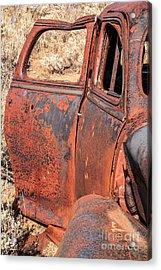 Rusty Doors Acrylic Print