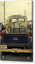Rusty Haul Acrylic Print by Laurie Perry