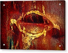 Rusty Kiss Acrylic Print