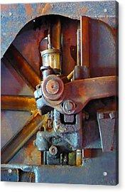 Rusty Machinery 2 Acrylic Print