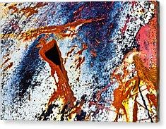 Rusty Metal Acrylic Print by Craig Brown