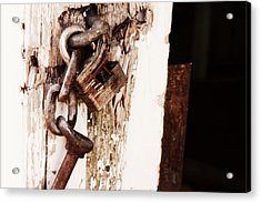 Rusty Acrylic Print by Michele Richter