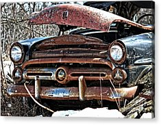 Rusty Old Car Acrylic Print