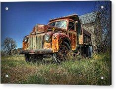 Rusty Reed Acrylic Print