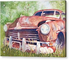 Rusty Relic Acrylic Print