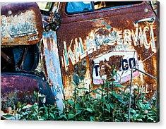Rusty Truck #1 Acrylic Print