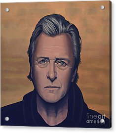 Rutger Hauer Acrylic Print by Paul Meijering