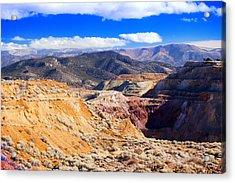 Ruth Northern Nevada Acrylic Print