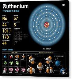 Ruthenium Acrylic Print by Carlos Clarivan