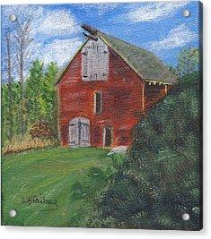 Ruth's Barn Acrylic Print