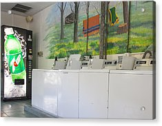 Rutledge Lake Rv Park Laundry Facilities Asheville Nc Acrylic Print
