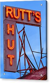 Rutt's Hut Acrylic Print by Jerry Fornarotto