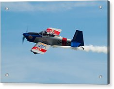 Acrylic Print featuring the photograph Rv8tors Flyby Wave by Scott Lyons