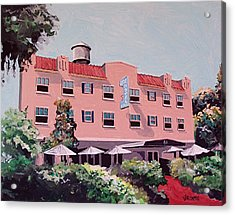 Ryde Hotel Acrylic Print by Paul Guyer