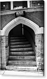 Ryman Auditorium Back Door Acrylic Print