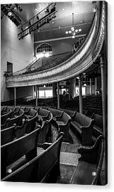 Ryman Auditorium Pews Acrylic Print