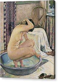 Rysselberghe, Theo Van 1862-1926. Nude Acrylic Print by Everett