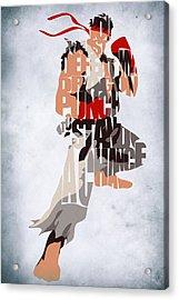 Ryu - Street Fighter Acrylic Print