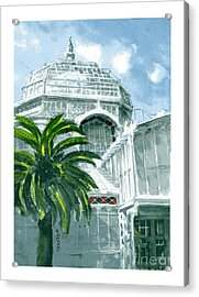 Sf Conservatory Acrylic Print