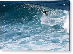 S-curve Acrylic Print by Kathy Corday