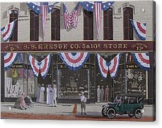 S. S. Kresge Five And Ten Cent Store Acrylic Print