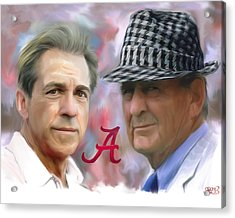 Saban And Bear Acrylic Print