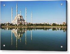 Sabanci Mosque  Adana, Turkey Acrylic Print by Reynold Mainse