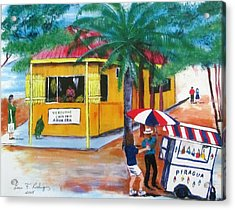 Sabor A Puerto Rico Acrylic Print